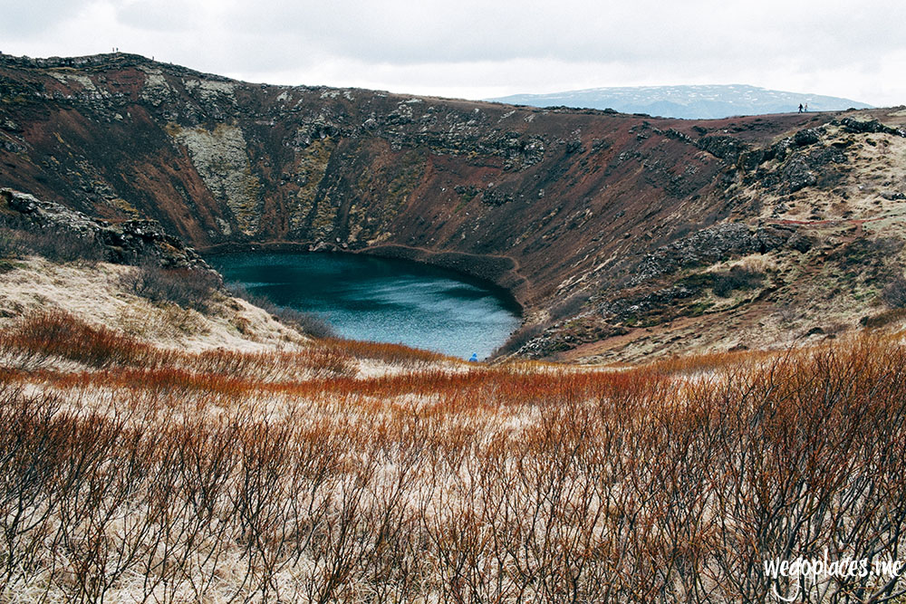 Visiting Kerid Crater in Iceland