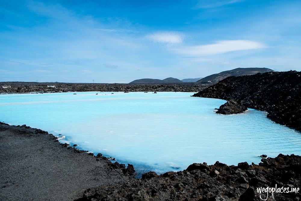 Pools outside the Blue Lagoon Iceland