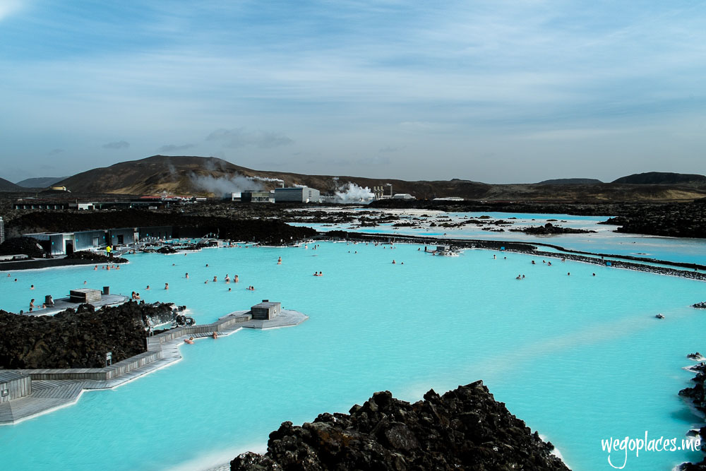 Spa and bathing area at the Blue Lagoon
