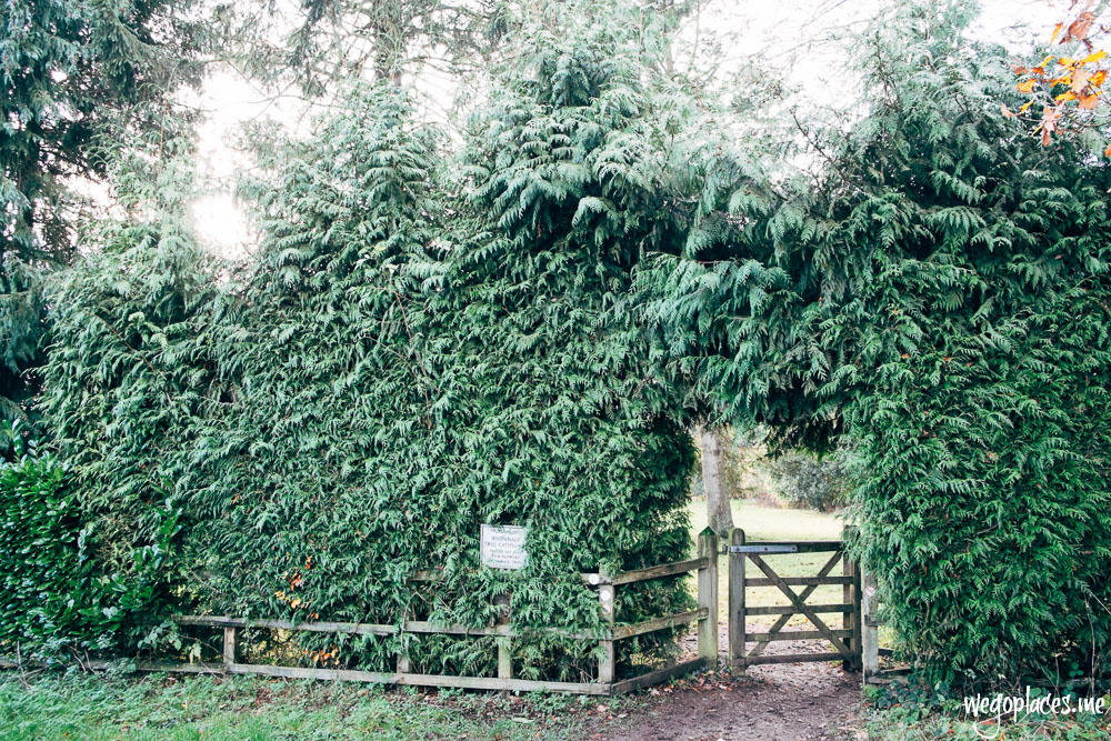 Entrance to Whipsnade Tree Cathedral