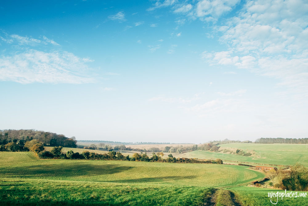 view across Dunstable Downs