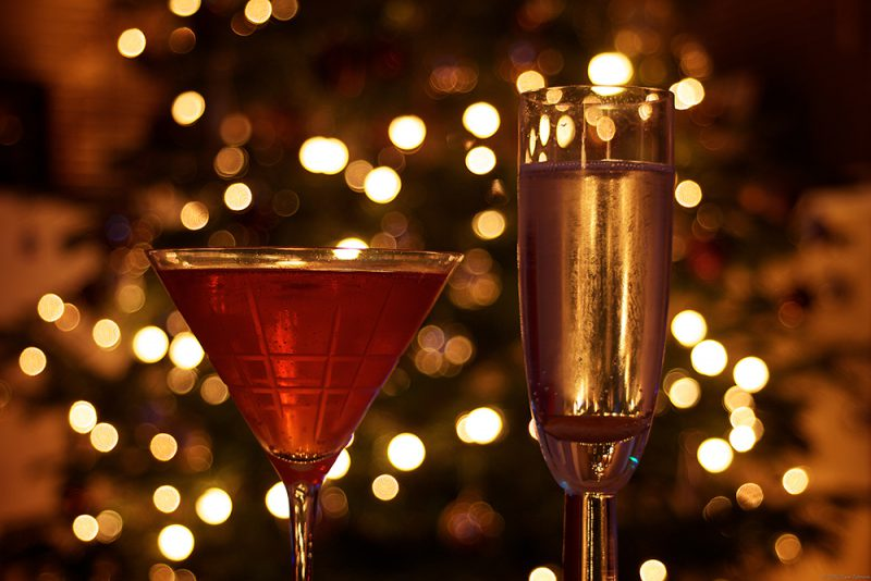 Relax with a festive drink at a London pub