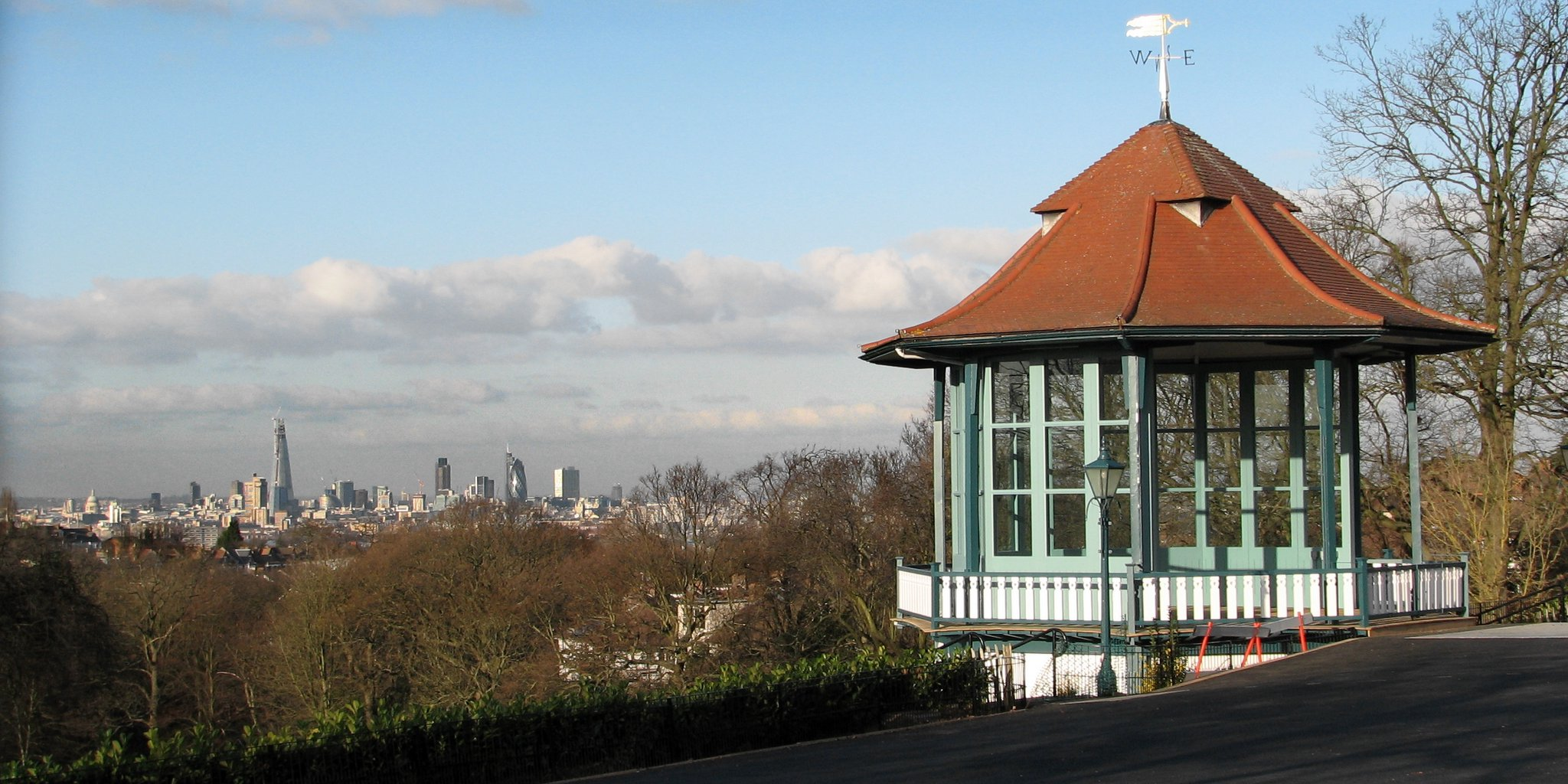 View from Horniman Gardens in London