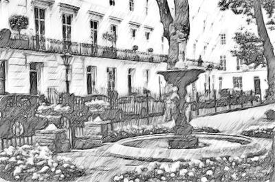 Wellington Square, Chelsea, London