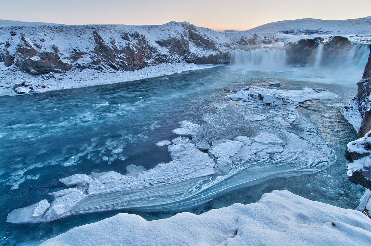 Iceland in the winter