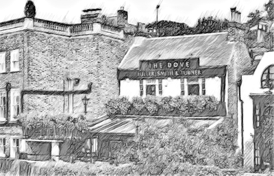 The Dove Pub in Hammersmith