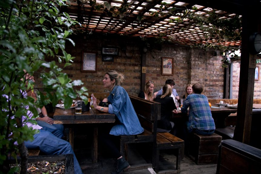 The Lock Tavern Beer Garden
