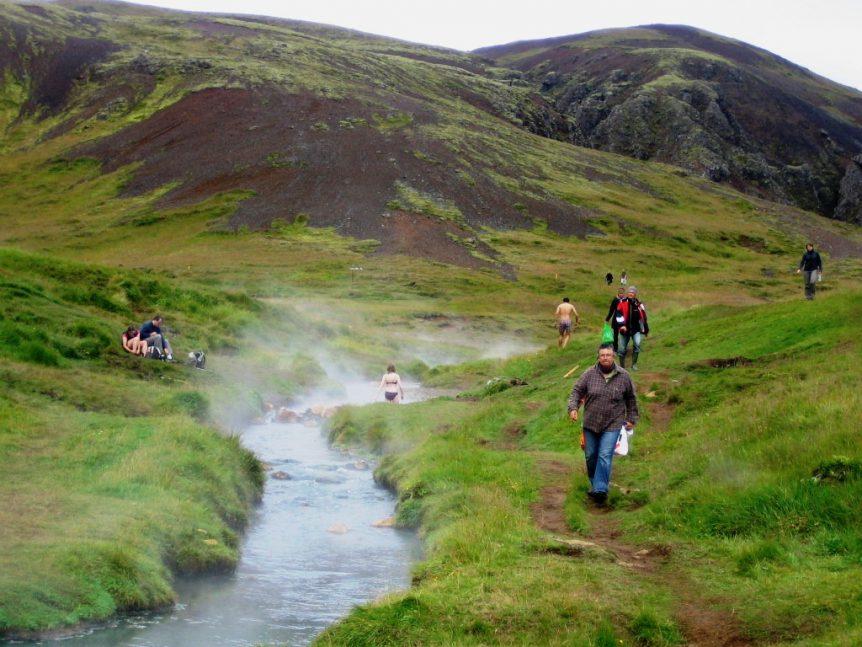 Hveragerði in Iceland