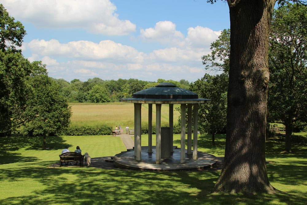Magna Carta Memorial in Runnymede