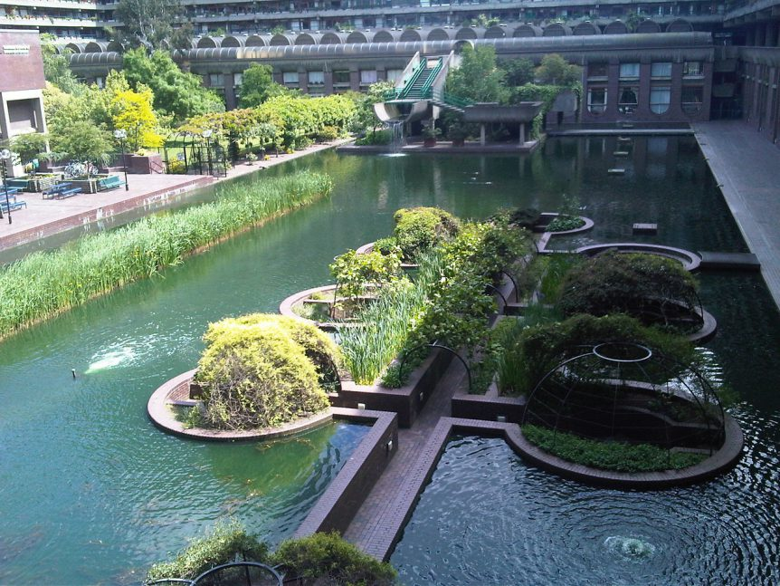 Barbican Estate Lakeside Gardens & Terrace