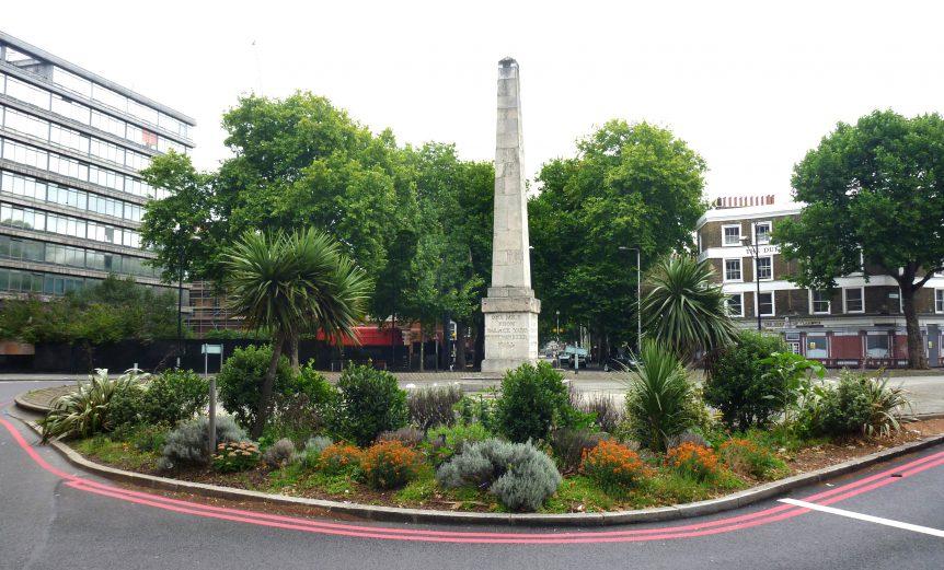 Saint Georges Circus Obelisk