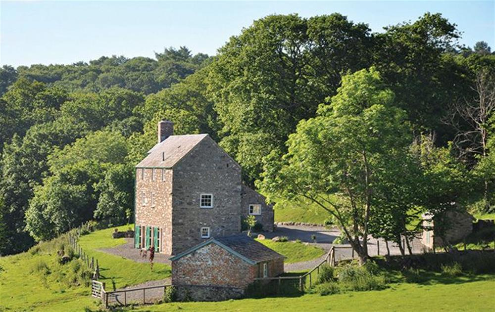 Lletty located above the Eglwysbach Valley at the Bodnant Estate, Colwyn