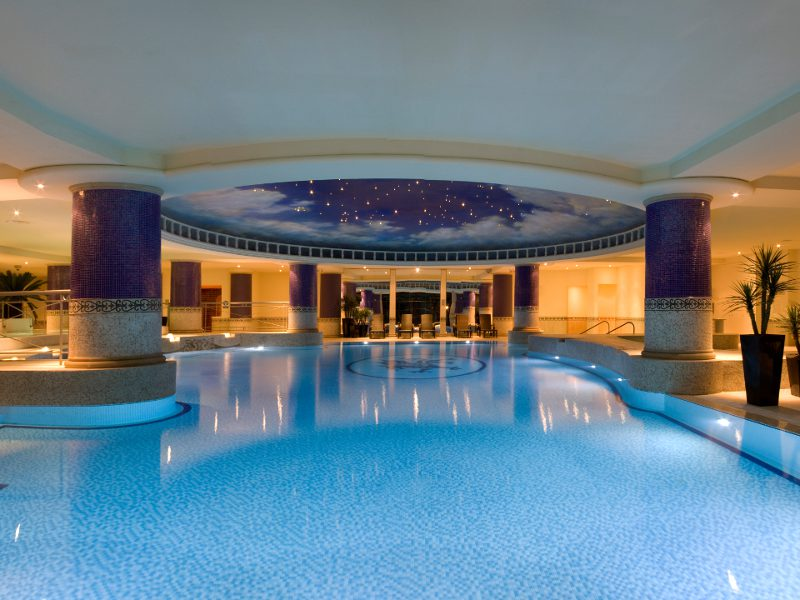 Celtic Manor Spa in Wales