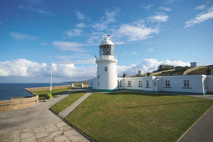 Argus Cottage at Pendeen Lighthouse in Cornwall