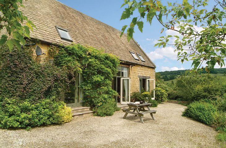 Buckland Wood Barn in the Cotswold