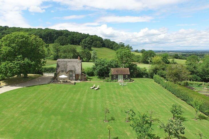 Field Cottage on Brendon Hill in the Cotswolds