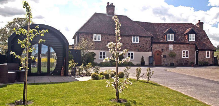 Stourview Cottage Spa B&B in Ashford, Kent