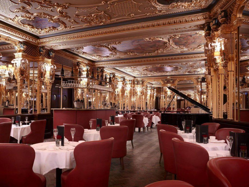 Hotel Cafe Royal London - Oscar Wilde Bar