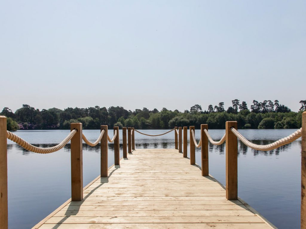 Champneys Forest Mere Jetty