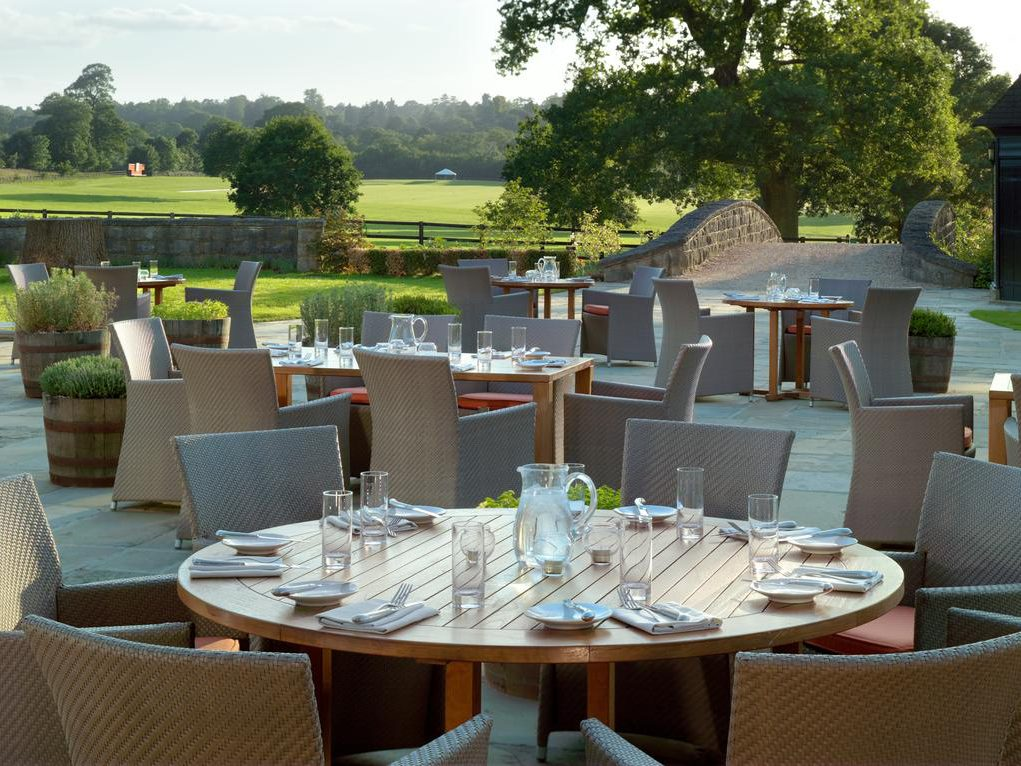 Coworth Park Hotel & Spa - Outdoor Dining