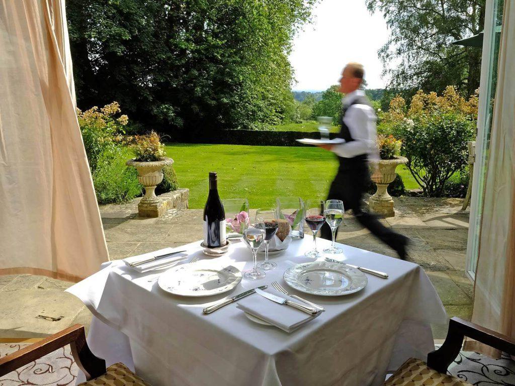 Ockenden Manor Hotel - Dining