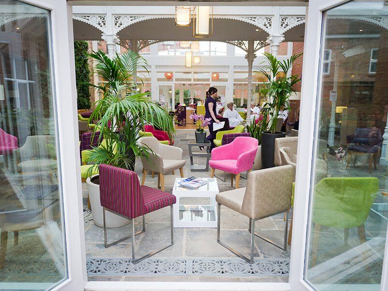 Ragdale Hall - Atrium & Beauty Express