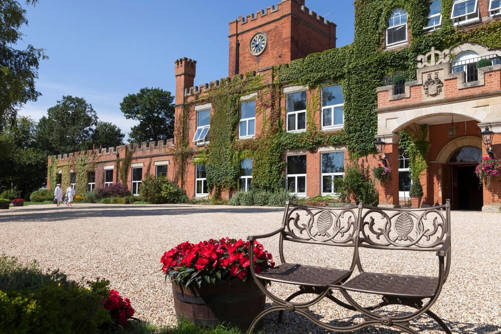 Ragdale Hall Hotel Spa in Leicestershire