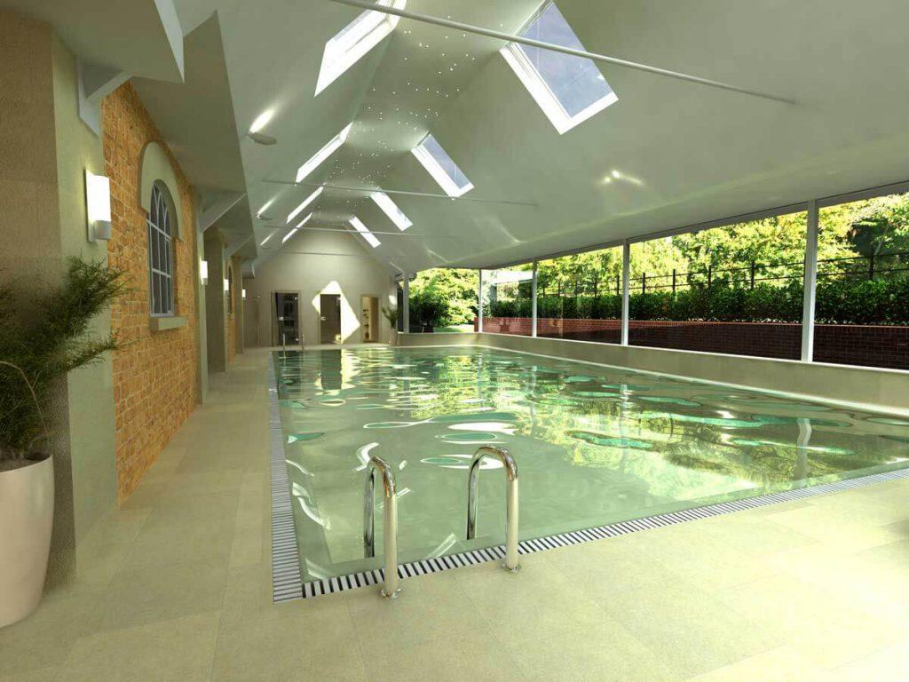 Rushton Hall Stableyard Spa in Kettering