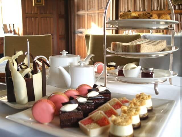 Rushton Hall Spa Hotel - Afternoon Tea