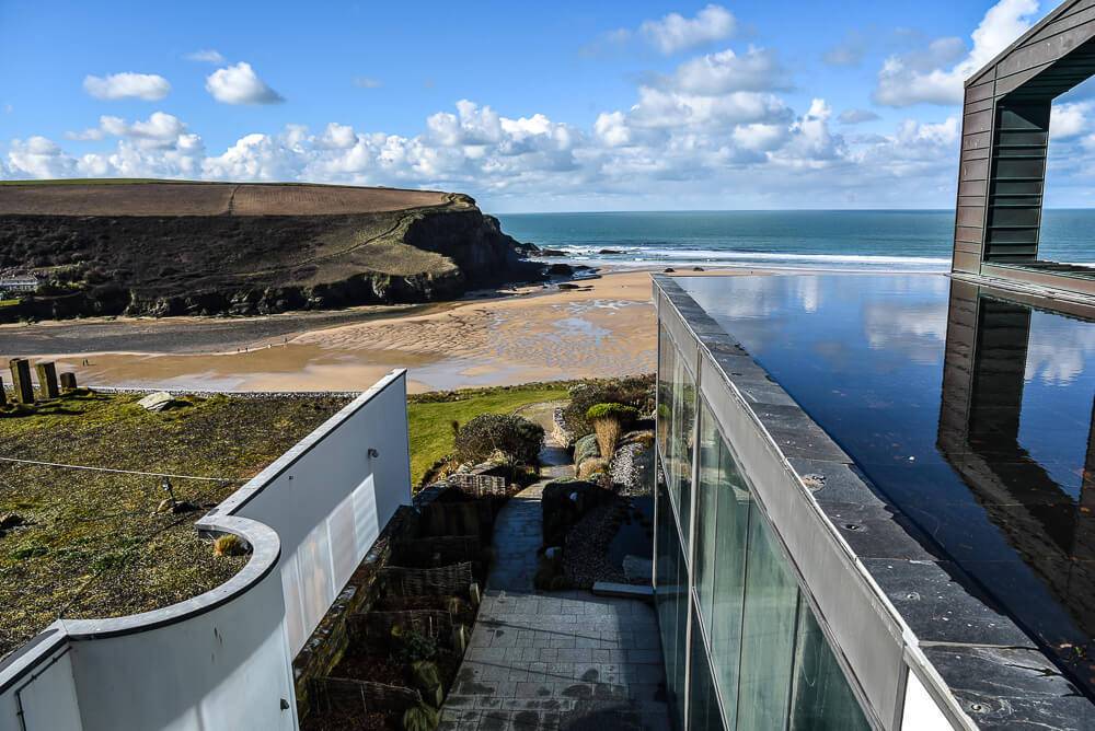 The Scarlet Hotel in Newquay, Cornwall