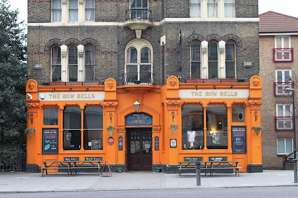 The Bow Bells Pub in London