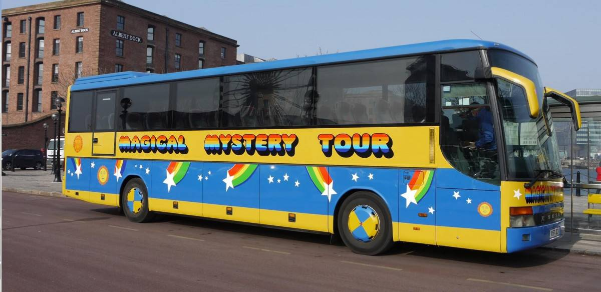 The Beatles Magical Mystery Tour Liverpool