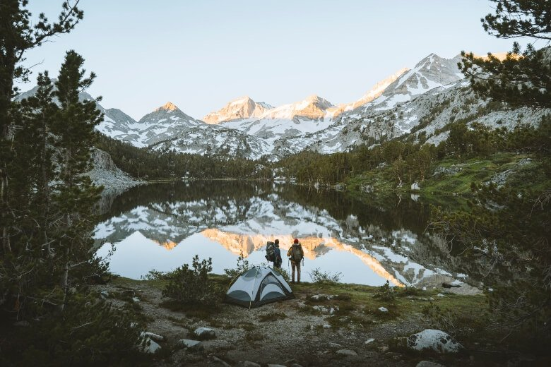 two people mountains instant tent