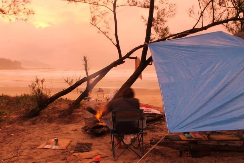 canopy shelter for camping