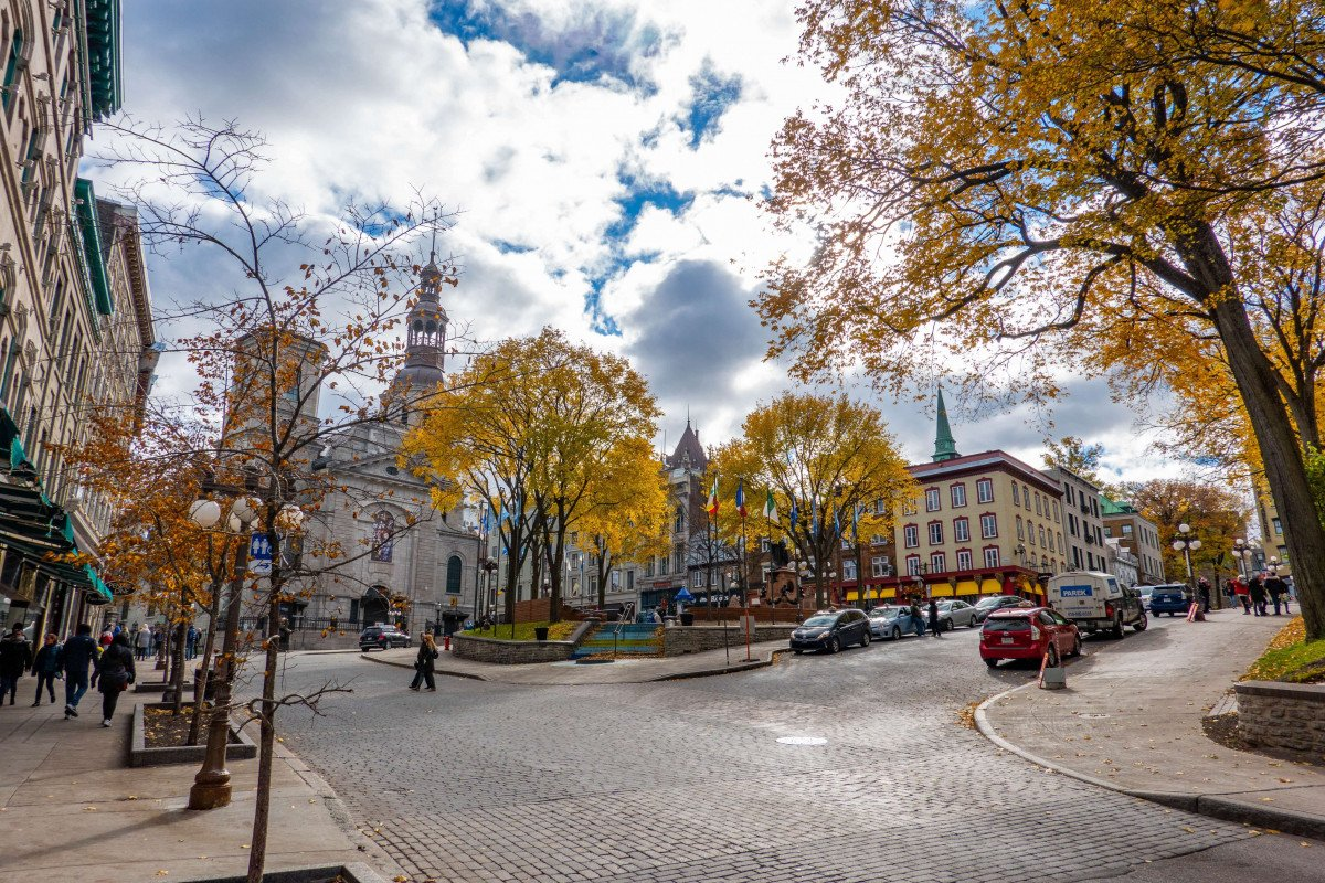 Quebec City is one of the oldest European cities in North America