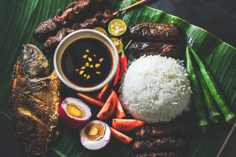 Quezon City, Philippines, Food