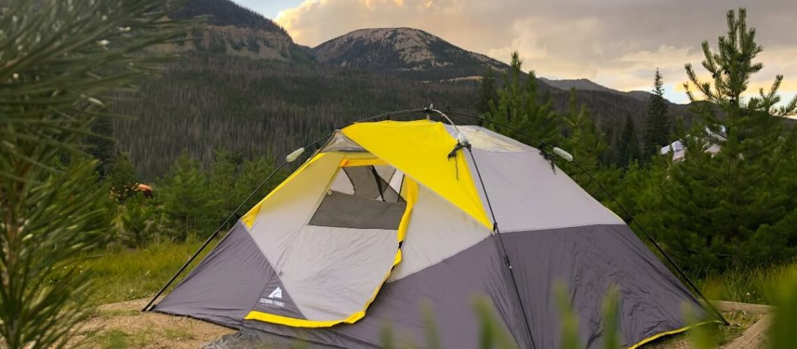 2 room tent for camping