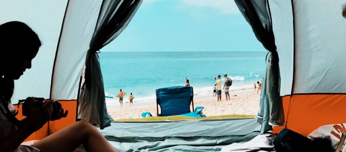best tent wiht ac port air conditioner