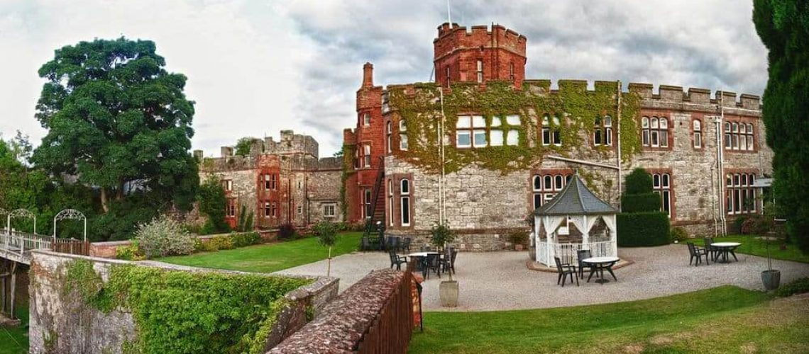 Ruthin Castle Spa Hotel in North Wales - The Moat Spa